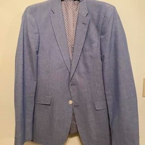 Powder Blue Tommy Hilfiger Sport Coat 40L